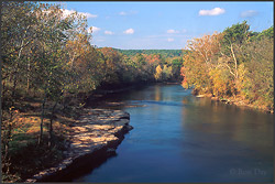 Illinois River Oklahoma trout fishing guides, Tahlequah Oklahoma ...