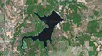 Lake Dripping Springs Oklahoma map