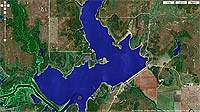 Lake Hulah Oklahoma map