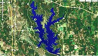 Lake Murray Oklahoma map