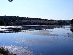 Lost Lake in the Wichita Mountains National Wildlife Refuge